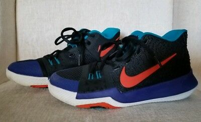 9f1fd8b038 Nike Kyrie 3 Boys Girls Kids Youth Basketball Sneakers Shoes Size 3.5Y GUC