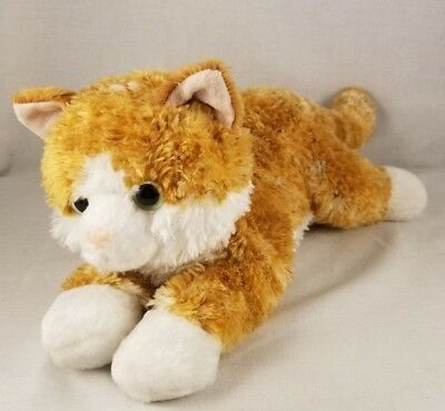 Aurora 10 Orange Tabby Cat Kitten Plush Stuffed Animal 7 99