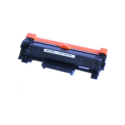 1 PK TN760 Toner with chip For Brother DCP-L2550DW HL-L2350DW HL-L2370DW