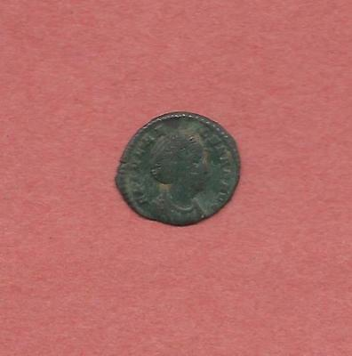"""Roman Bronze AE 4 of Helena, mother of Constantine I, """"the Great""""    (#6728)"""