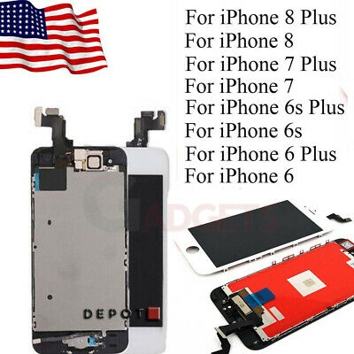Full LCD Display Touch Screen Digitizer Replacement for iPhone 7-6s Plus 6