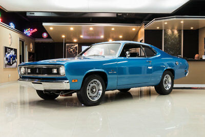 1970 Plymouth Duster  Duster! Plymouth 440ci V8, A727 Automatic, SureGrip, MSD Ignition, Disc, B5 Blue