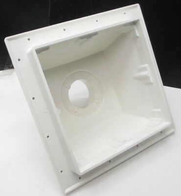 """Drain Body Only-Sioux Chief 861-3PD Square Floor Sink 14-1/8"""" w X 6-3/8"""" D"""
