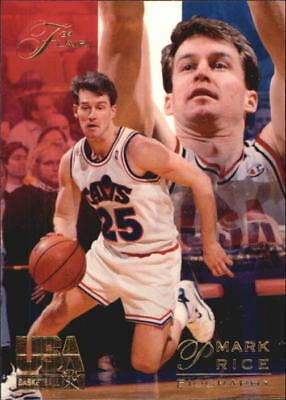 1994 Flair USA Cleveland Cavaliers Basketball Card #84 Mark Price CAVS/Biography
