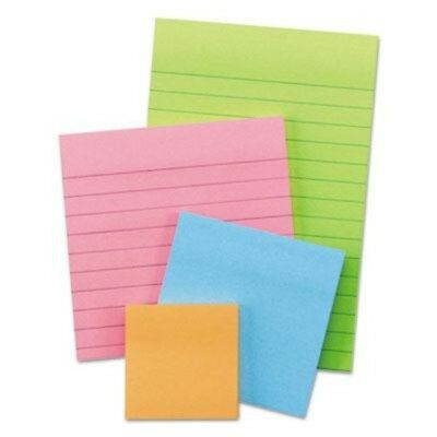 Post-it Notes 3M Super Sticky Electric Glow Collection Note Pads Set of 4 Pads
