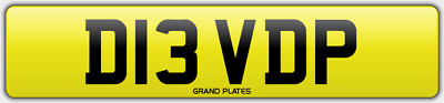 Davids Number Plate Dave David P Registration D13 Vdp No Added Fees Davy Dve Dvy