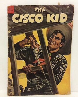 Vintage 1954 Cisco Kid 10 Cent Comic Book May June