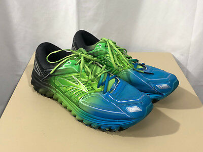 e7932f963ba MENS BROOKS GLYCERIN 11 multi color athletic running shoes sz 11 EE ...