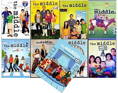 The MIDDLE Complete Series Seasons 1-9 (DVD, 27-Discs Set) 1 2 3 4 5 6 7 8 9 New