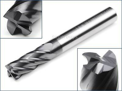 4 Flutes 8mm Tungsten Steel CNC Lathe Milling Router Bit Cutting Boring Tool