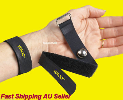 Two KORJO Anti Nausea Travel Sickness Bands2Motion Sea Plane Car Sick Wristband