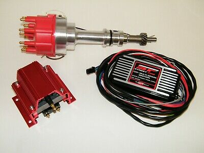 MSD Street Fire Ford SBF Pro Billet Distributor Ignition Box Coil 289 302 Windso