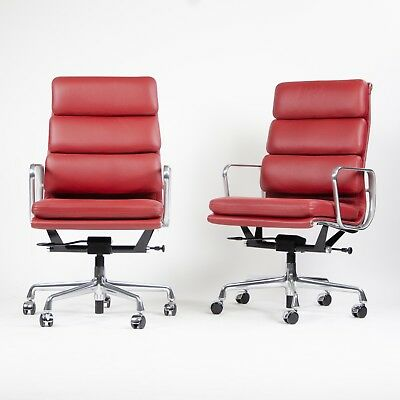 NEW 2017 Eames Herman Miller High Soft Pad Alu Desk Chairs 14x Edelman Leather