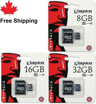 8GB 16GB 32GB Kingston Micro SD SDHC Memory Card Class 10 Card for phone