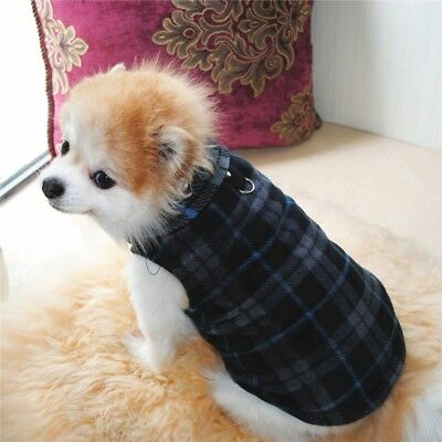 Pet Dog Winter Warm Coat Sweater Puppy Fleece Vest Jacket Shirt Clothes XS-3XL