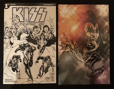 KISS Blood & Stardust #1H & 1I (2018) CND: NM - 1:10 & 1:20 RETAILER INCENTIVES