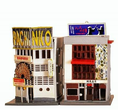 1:150 Tomytec Building 086-2 Painted Click Together Inn & Corner Casino