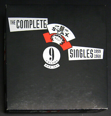 The  Complete Stax/Volt Singles, 1959-1968 [Box] 9CD Remastered 1991 NM discs