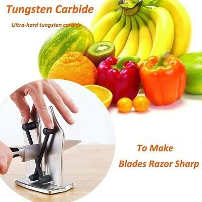 New  Fast Kitchen Knife Sharpener Tool Sharpens Hones&Polisher As Seen On TV