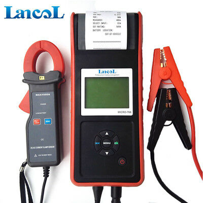 12V Car Battery Load Tester Analyzer Detector with printer same as BST-760