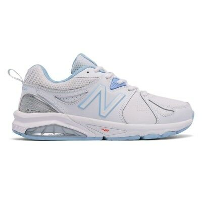 NEW BALANCE Damenschuhe WX857WB2 Fabric Niedrig Top Top Top Lace Up, Weiß LTBlau ... 7254d6