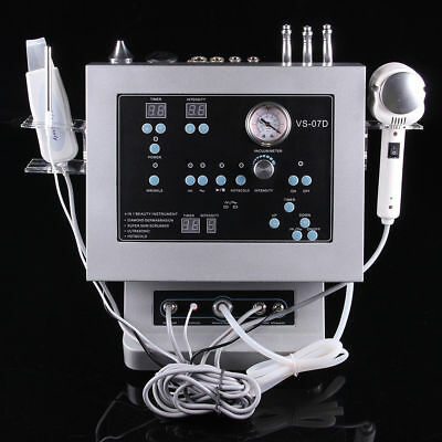 Professional 4 in 1 DIAMOND MICRODERMABRASION BEAUTY MACHINE for Skin Care Tool