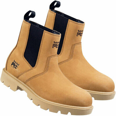 Timberland Pro 26135 SawHorse Dealer Safety Boot Water Resistant Honey Size 10