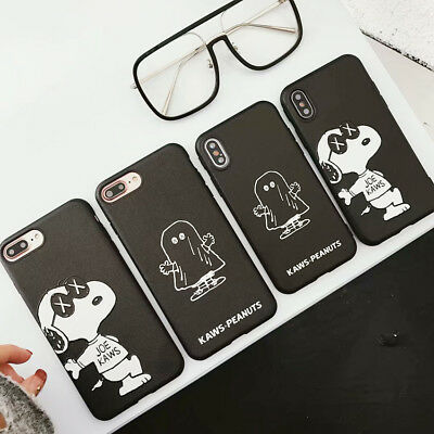 Hip Hop Snoopy Phone Case Silicone Cover For iPhone X XS Max XR 6/6S 7 8 Plus