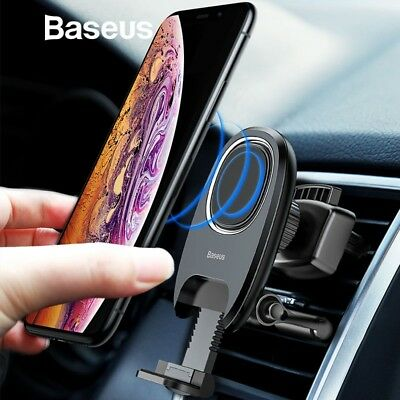 Universal Magnetic Car Mount Holder Air Vent For Cell Phone iPhone XS XR Samsung