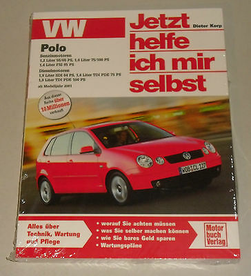 Repair Manual VW Polo 9N, from Year 2001