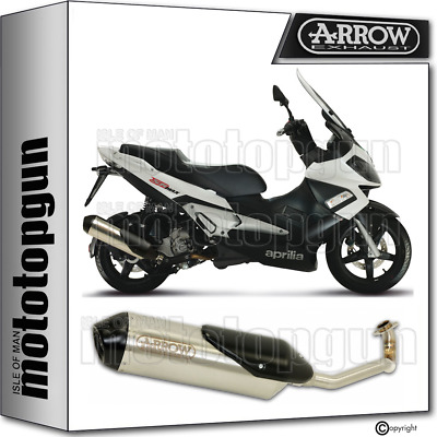 Arrow Full System Exhaust Homologated Reflex 2 Aprilia Sr Max 300 2012 12