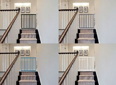 Safetots Top of the Stairs Screw Fitted No Trip Baby Stair Gate