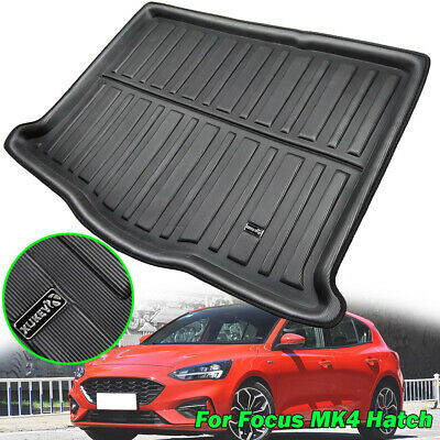 For Ford Focus MK4 Hatchback 2019 Boot Cargo Liner Tray Rear Trunk Floor Mat