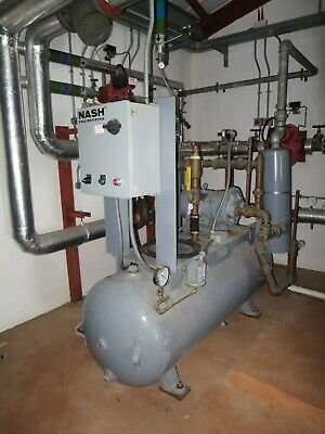 Nash MHF 50 liquid ring vacuum pump system with tank and controls
