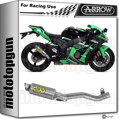 Arrow Kit Exhaust Nocat Race Gp2 Titanium Kawasaki Zx-10R 2016 16 2017 17