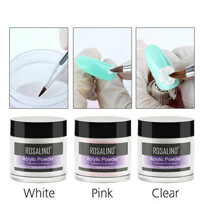 Acrylic Liquid & Powder Crystal Nail  Art Tips Builder Sculpture Nail Polish