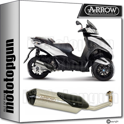 Arrow Full System Exhaust Homologated Reflex 2 Piaggio Mp3 300 Yourban 2013 13