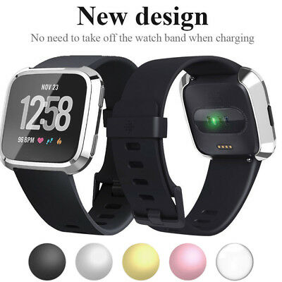 For Fitbit Versa Screen Protector Case Full 360 Protection Gel Bumper Cover US