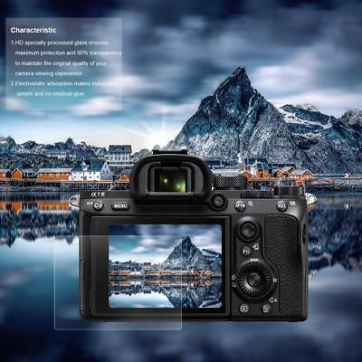 TEMPERED GLASS FILM LCD Screen Protector Cover Antiscratch For Sony A7III  Camera