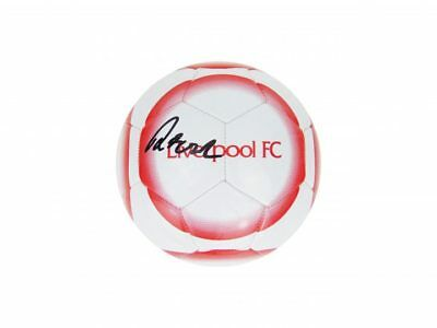 Signed Robbie Fowler Ball, Liverpool Fc Football + *Photo Proof*