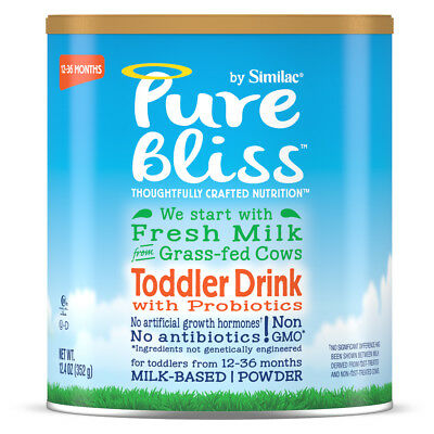 Pure Bliss by Similac Toddler Drink with Probiotics, Starts with Fresh Milk