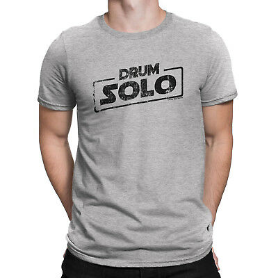 Mens DRUM SOLO Drummer Drumming Drums Music T-Shirt Sticks Instrument Novelty