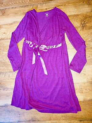 Two Hearts Maternity Nursing Robe Size M