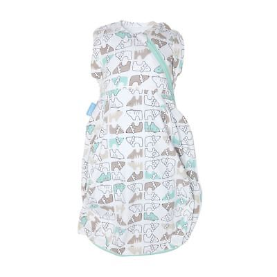 Lions & Tigers Gro-Snug 2-in-1 Swaddle and Grobag - Hip-Healthy, Newborn, Light