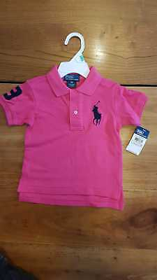 POLO RALPH LAUREN Enfant Rose 18 mois grand poney - EUR 24,49 ... a5d0cb06979