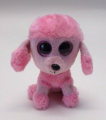 Ty Beanie Boos Princess Pink Poodle Dog 6