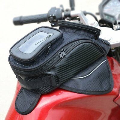 Waterproof Magnetic Motorcycle Motorbike Oil Fuel Tank Bag Saddle Phones Bag LU