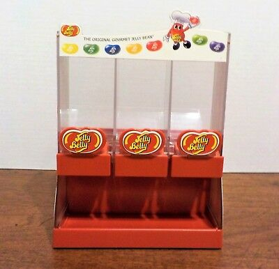 Jelly Belly Jelly Bean 2007 Candy Dispenser 3 Compartments