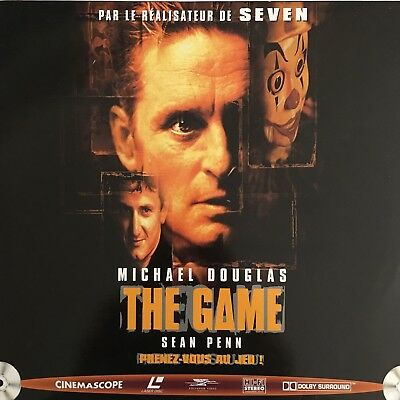 LASERDISC - THE GAME - VF - PAL - Michael Douglas, Sean Penn
