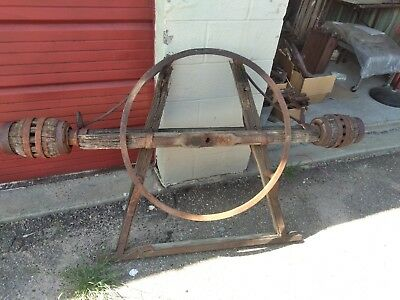 antique horse drawn carriage yard art